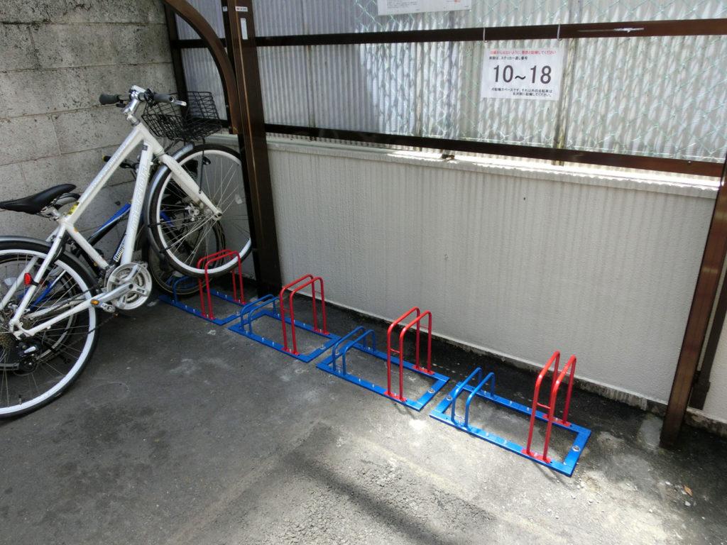 マンション 駐輪場設置